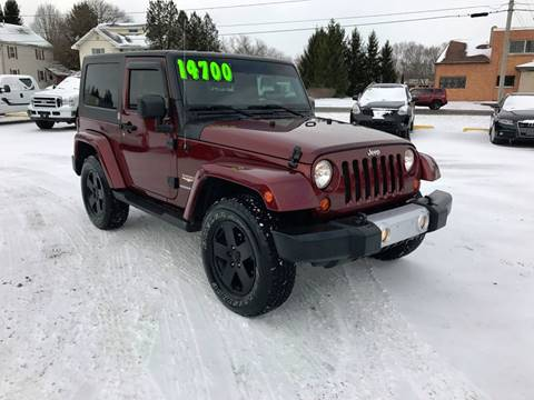2008 Jeep Wrangler for sale at SMS Motorsports LLC in Cortland NY
