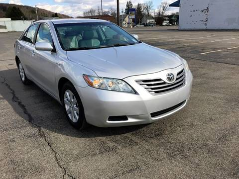 2008 Toyota Camry Hybrid for sale at SMS Motorsports LLC in Cortland NY