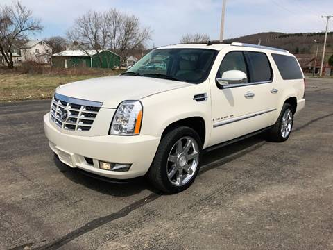 2007 Cadillac Escalade ESV for sale at SMS Motorsports LLC in Cortland NY