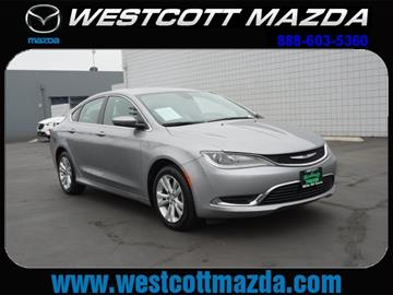 2015 Chrysler 200 for sale in National City, CA