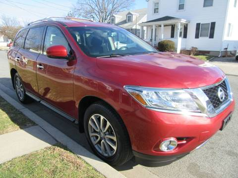 2016 Nissan Pathfinder for sale at First Choice Automobile in Uniondale NY