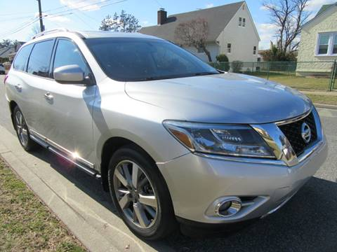2014 Nissan Pathfinder for sale at First Choice Automobile in Uniondale NY