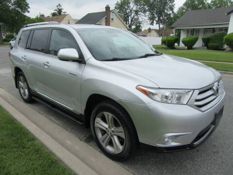 2012 Toyota Highlander for sale at First Choice Automobile in Uniondale NY
