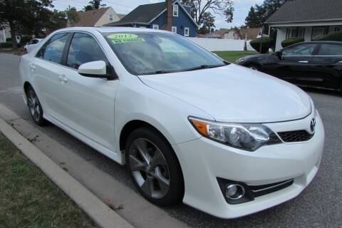 2012 Toyota Camry for sale at First Choice Automobile in Uniondale NY