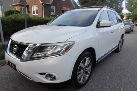 2013 Nissan Pathfinder for sale at First Choice Automobile in Uniondale NY