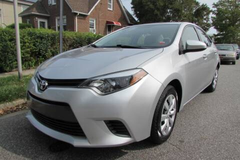 2016 Toyota Corolla for sale at First Choice Automobile in Uniondale NY