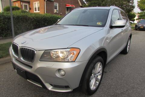 2013 BMW X3 for sale at First Choice Automobile in Uniondale NY
