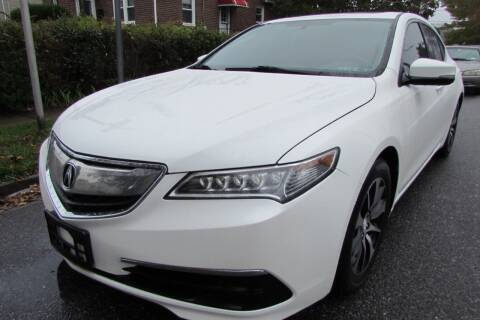 2015 Acura TLX for sale at First Choice Automobile in Uniondale NY
