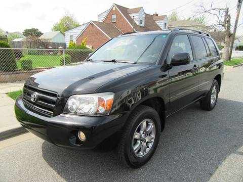 2006 Toyota Highlander for sale at First Choice Automobile in Uniondale NY