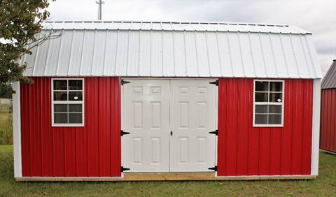 2018 Premier Portable Side Lofted Barn for sale in La Grange, NC