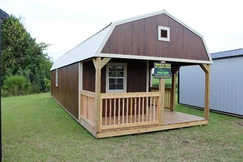 2018 Premier Portable Building Premier Lofted Barn Cabin for sale in La Grange, NC