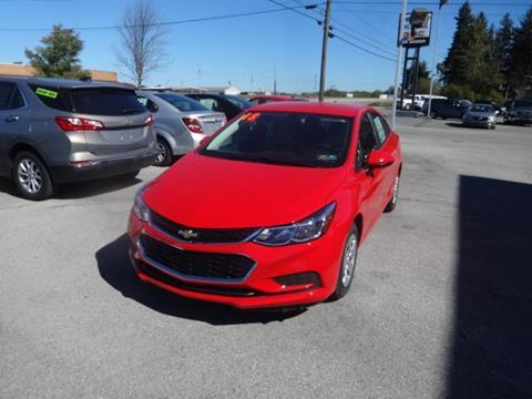 2018 Chevrolet Cruze for sale in Ebensburg, PA