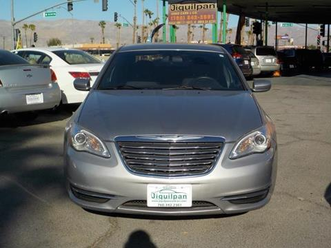 2013 Chrysler 200 for sale in Indio, CA