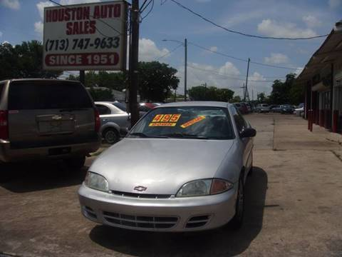 2002 Chevrolet Cavalier for sale in Houston, TX