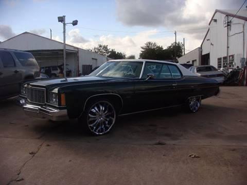1975 Chevrolet Impala for sale in Houston, TX