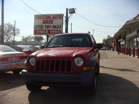 used 2005 jeep liberty for sale in houston tx. Black Bedroom Furniture Sets. Home Design Ideas
