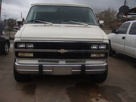1992 Chevrolet Chevy Van for sale in Houston, TX