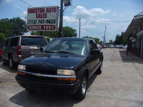 2002 Chevrolet S-10 for sale in Houston, TX