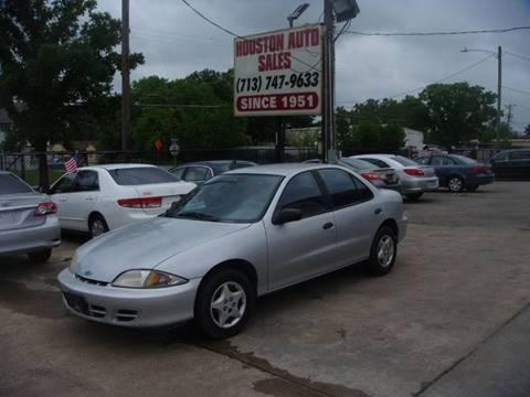 2000 Chevrolet Cavalier for sale in Houston, TX