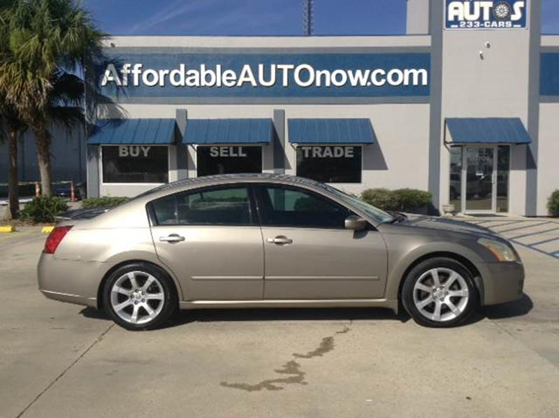 2007 Nissan Maxima For Sale At Affordable Autos In Houma LA