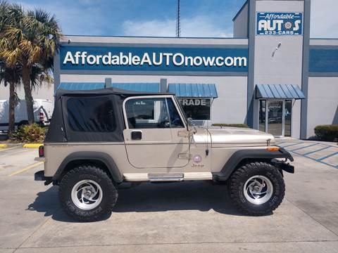 1993 Jeep Wrangler for sale in Houma, LA