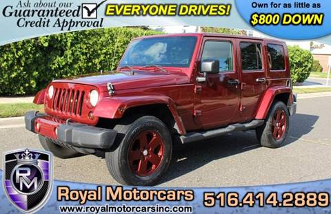 2009 Jeep Wrangler Unlimited for sale in Uniondale, NY