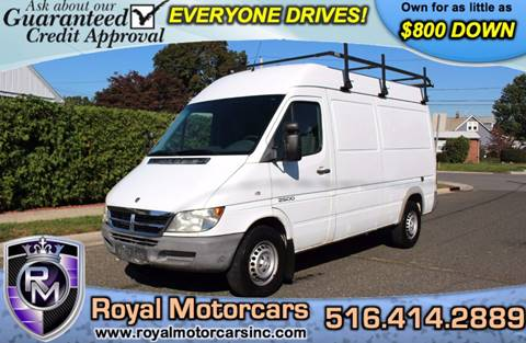 2006 Dodge Sprinter Cargo for sale in Uniondale, NY