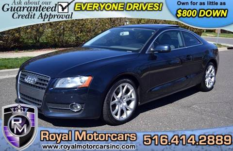 2010 Audi A5 for sale in Uniondale, NY