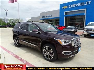 2017 GMC Acadia for sale in Fredericksburg, TX