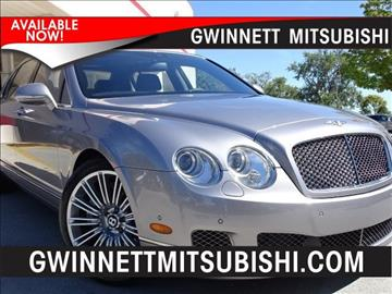 2012 Bentley Continental Flying Spur Speed for sale in Duluth, GA