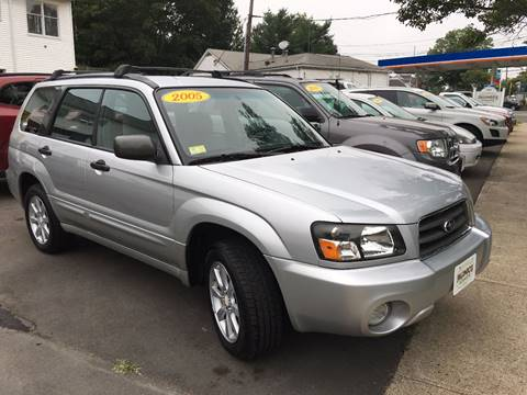 2005 Subaru Forester for sale at Palumbo's Automotive in Guilford CT