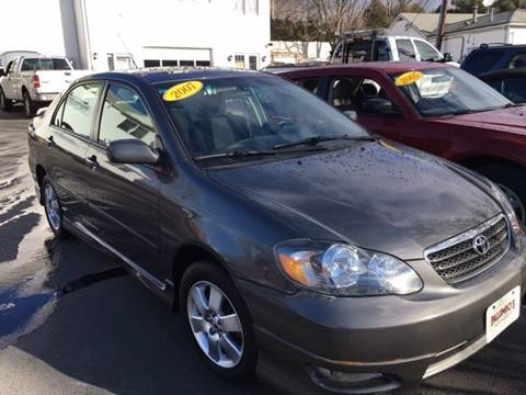 2007 Toyota Corolla for sale at Palumbo's Automotive in Guilford CT