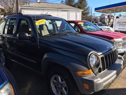 2005 Jeep Liberty for sale at Palumbo's Automotive in Guilford CT