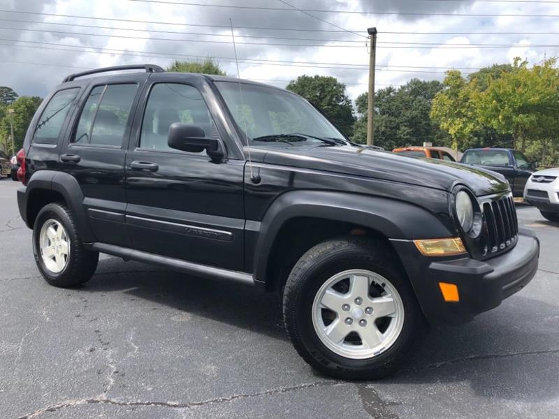 2005 Jeep Liberty for sale at Town Square Motors in Lawrenceville GA