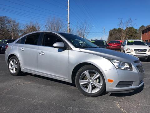 2013 Chevrolet Cruze 2LT Auto for sale at Town Square Motors in Lawrenceville GA