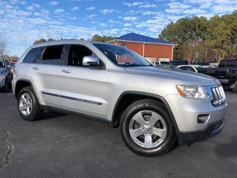 2012 Jeep Grand Cherokee Limited for sale at Town Square Motors in Lawrenceville GA