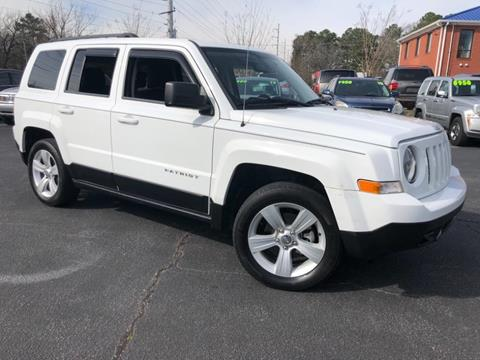 2013 Jeep Patriot Latitude for sale at Town Square Motors in Lawrenceville GA