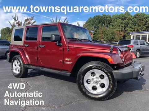 2008 Jeep Wrangler Unlimited for sale in Lawrenceville, GA