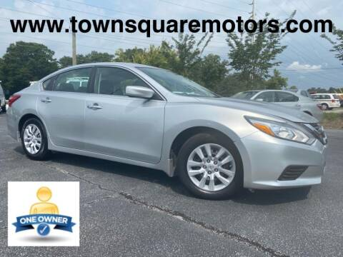 2016 Nissan Altima for sale at Town Square Motors in Lawrenceville GA