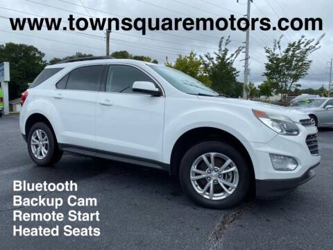 2016 Chevrolet Equinox for sale at Town Square Motors in Lawrenceville GA
