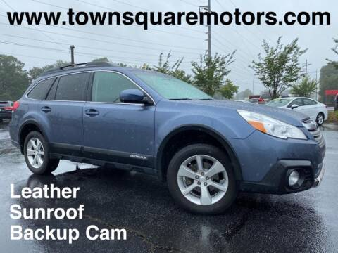 2013 Subaru Outback for sale at Town Square Motors in Lawrenceville GA
