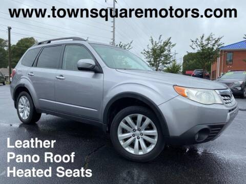 2011 Subaru Forester for sale at Town Square Motors in Lawrenceville GA