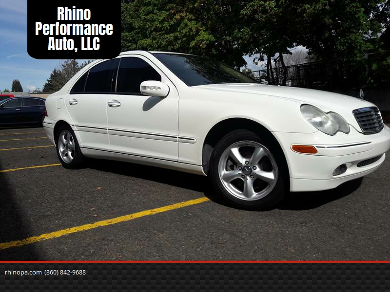 2002 Mercedes Benz C Class For Sale At Rhino Performance Auto, LLC In