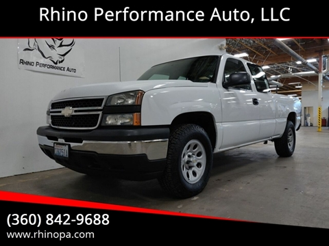 Pickup Truck For Sale in Vancouver, WA - Rhino Performance Auto, LLC