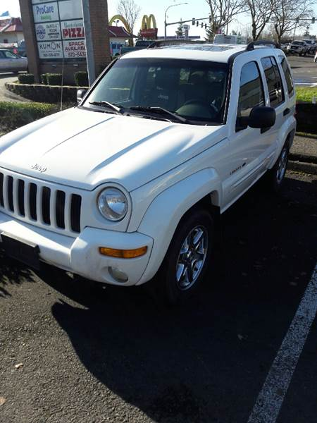 2003 Jeep Liberty For Sale At Rhino Performance Auto, LLC In Vancouver WA