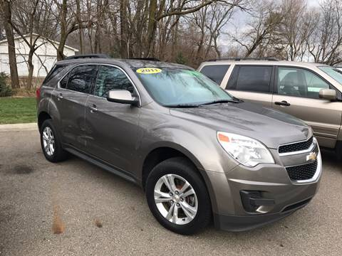 2011 Chevrolet Equinox for sale at Station 45 Auto Sales Inc in Allendale MI