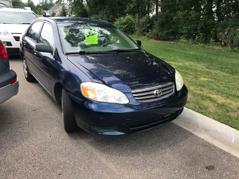 2002 Toyota Corolla for sale at Station 45 Auto Sales Inc in Allendale MI