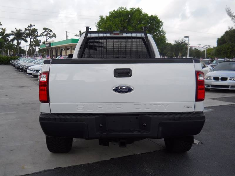 2011 Ford F-350 Super Duty 4x4 XLT 4dr Crew Cab 8 ft. LB SRW Pickup - West Palm Beach FL
