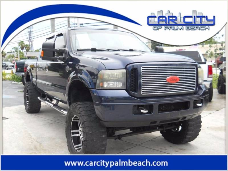 2005 Ford F-350 Super Duty 4dr Crew Cab Lariat 4WD SB - West Palm Beach FL