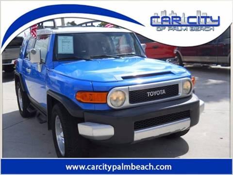 2007 Toyota FJ Cruiser for sale in West Palm Beach, FL